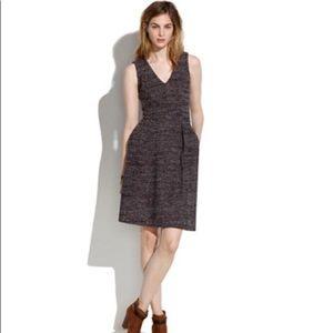 Madewell Terrace Knit Twill Dress